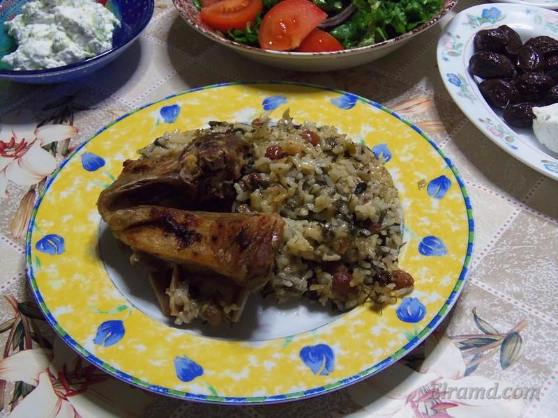 Пасхальятико (Пасхальная баранина в духовке) - греческое национальное блюдо