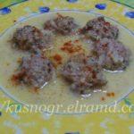 Греческий суп с фрикадельками, или просто Юварлакья
