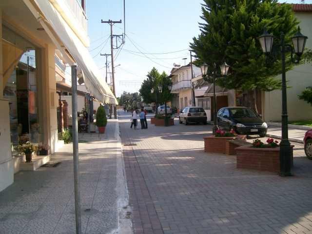 Пешеходная зона в центре Портарьи