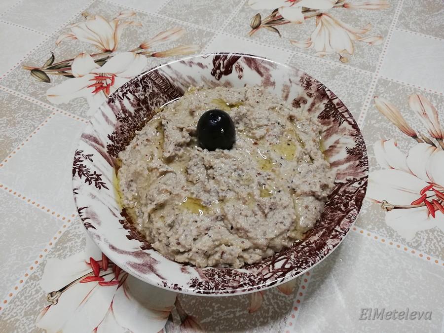 Греческая скордалья закуска из чеснока