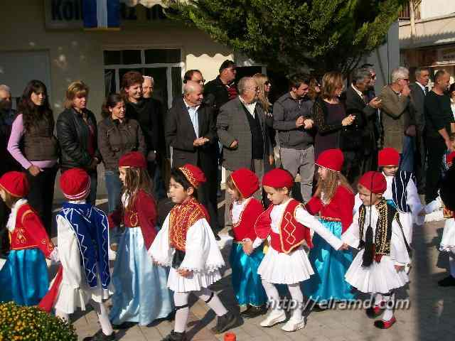 День Охи - детский парад