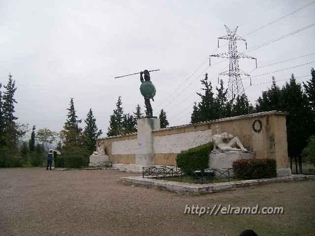 Фермопилы, памятник Леониду