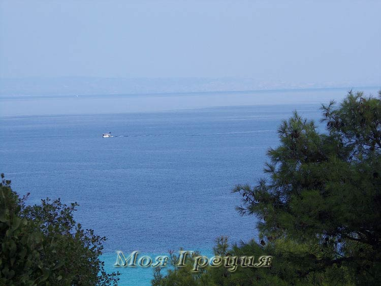 Каллифея. Вид на Торонейский залив и Ситонию