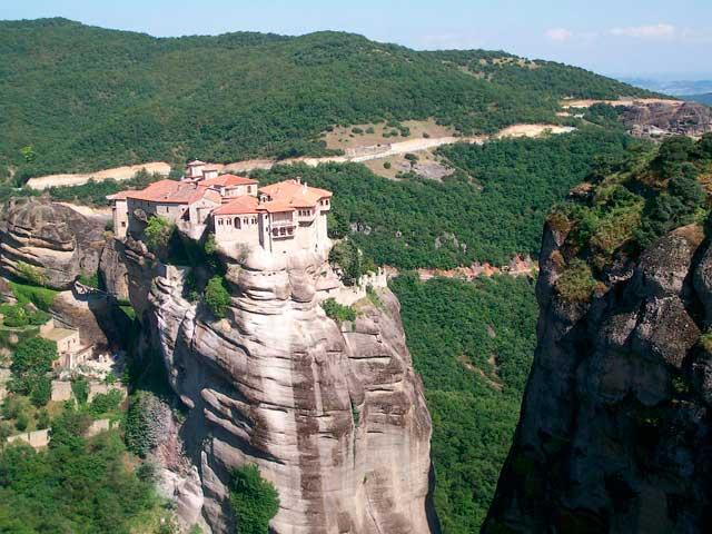 Монастырь Св. Варлаама, Метеоры, Греция