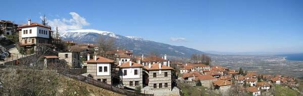 Вид на Старый Пантелеймон, Греция