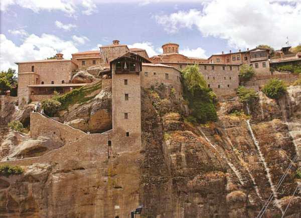 Монастырь Большой Метеор, Греция