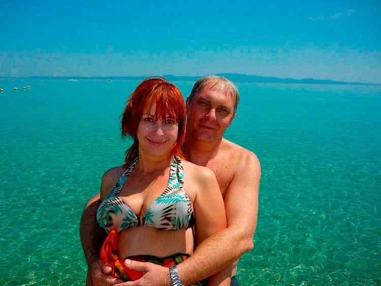 На море в Греции