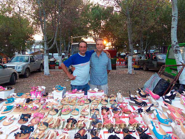Рынок в Паралии Дионисиу