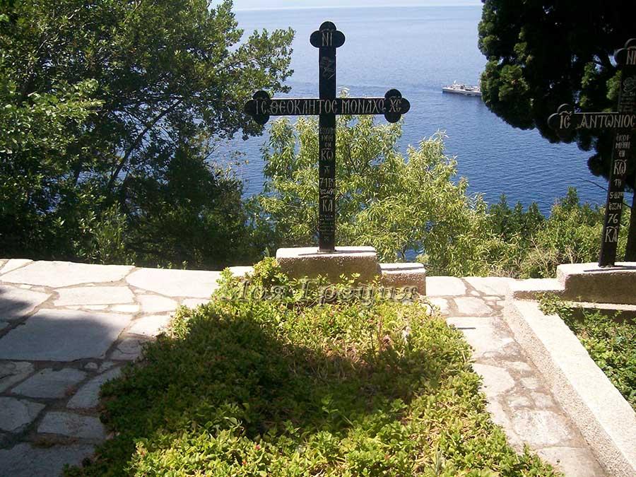 Могила монаха Феоклита