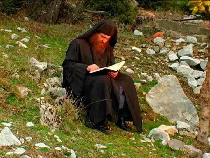 Монахи Святого Афона