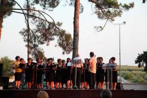 Репетиция хора женщин Портарьи