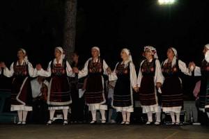 Танцевальная группа из Галатисты