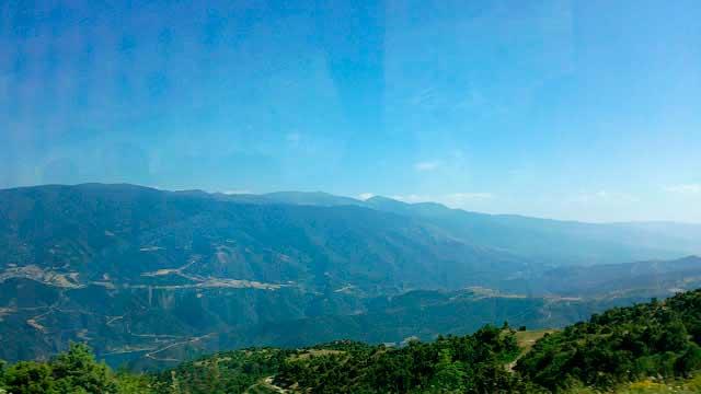На высоте 1320m