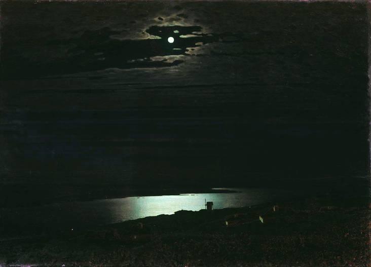 Лунная ночь, Куинджи