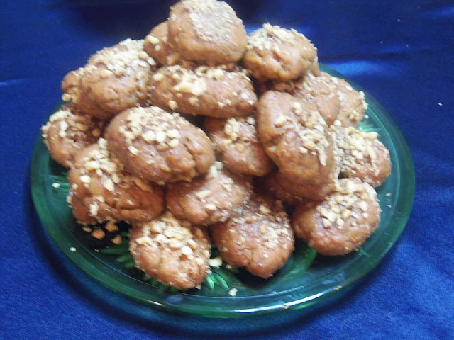 Медовое печенье меломакарона
