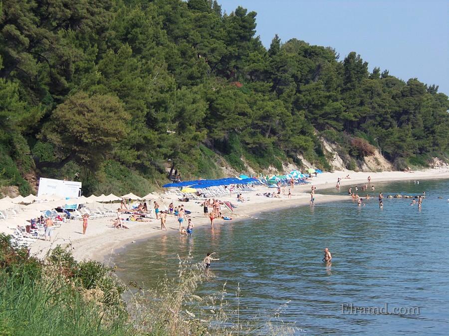 Пляж Криопиги ежегодно получает Голубой флаг