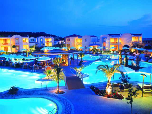 sani beach отель