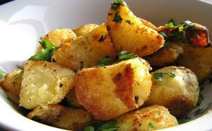 Рецепт запеченной картошки в масле