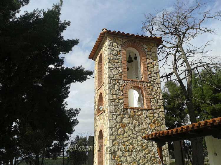 Колокольня храма в Ания Параскеви