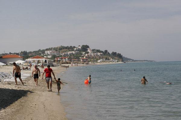 Пляж в Фурке