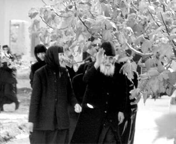 Отец Паисий в монастыре
