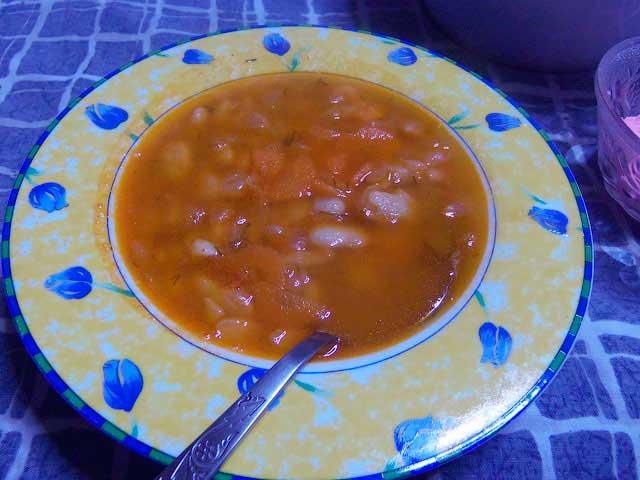 Фасолада = фасолевый суп