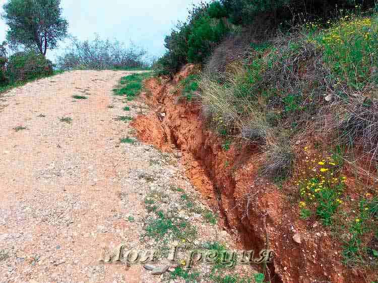Олинфос - дорога к раскопкам