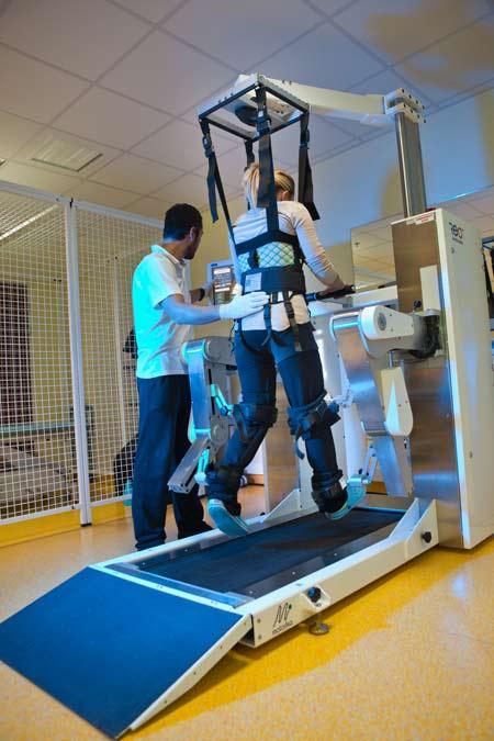Роботическая система восстановления ходьбы