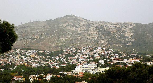 Гора Пентели