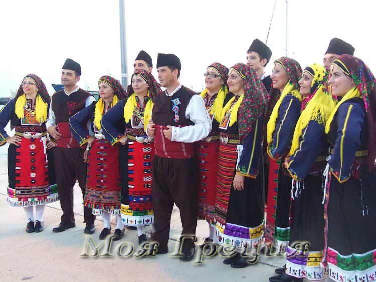 Ансамбль народных танцев из Авато, Ксанти