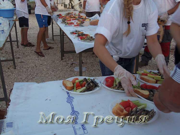Фестиваль сардин Муданья