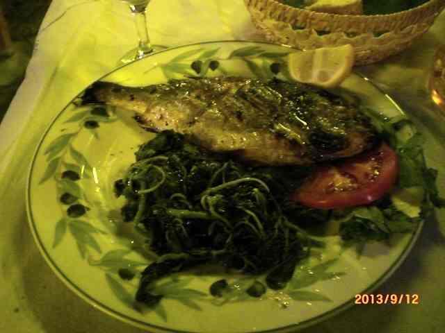 Вкусная греческая рыба
