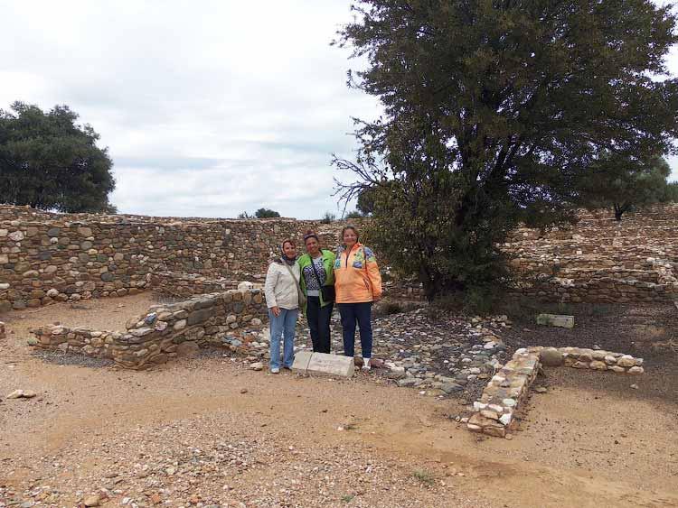 На раскопках древнего Олинфоса