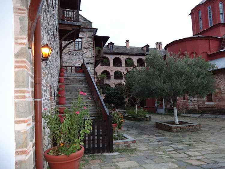 В монастыре Кутлумуш