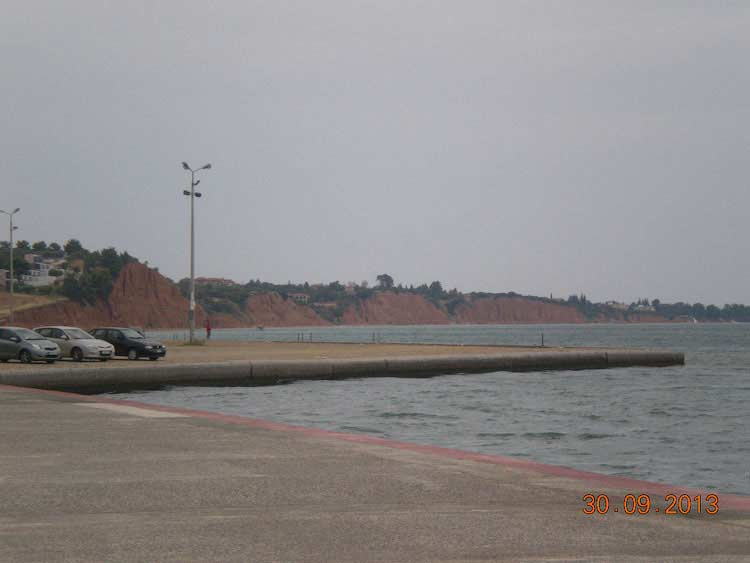 Вид с набережной Муданьи