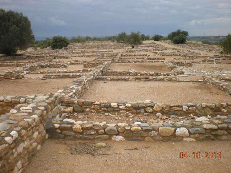 На раскопках Олинфоса