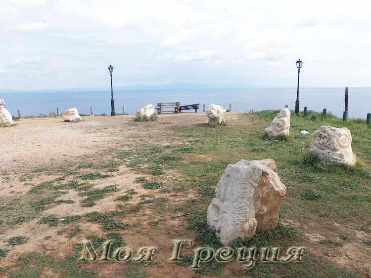 Касенный круг в Афитосе