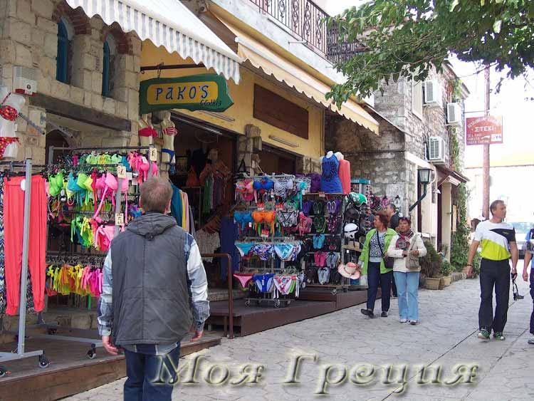 Афитос - все для туристов