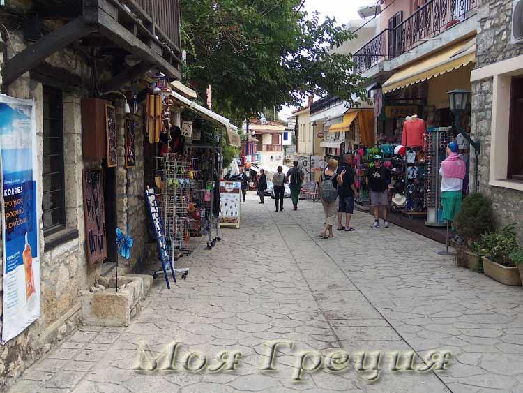 Магазинчики в Афитосе