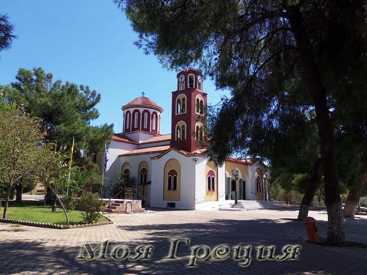 Храм Святого Пантелеймона, Ватопеди Халкидики