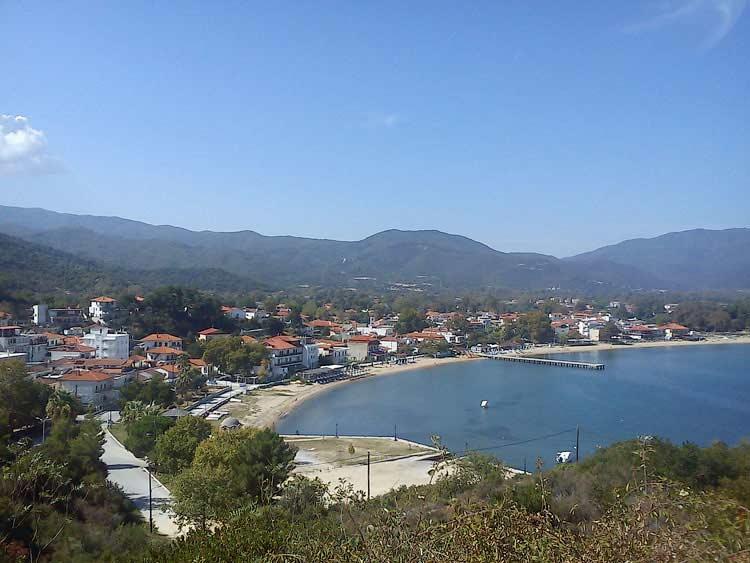 Вид на поселок Олимпиада