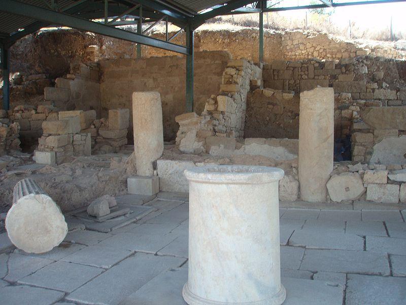 Древний Аканфос раскопки