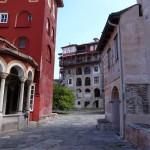 Двор Ватопедского монастыря