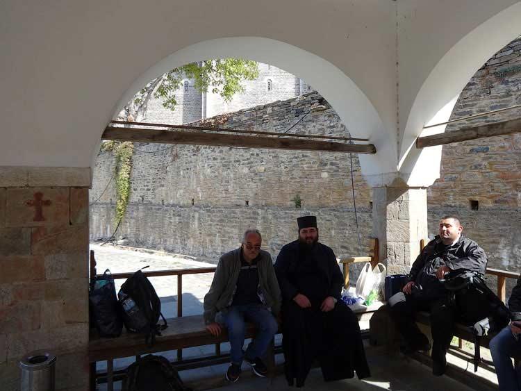Сергей Рязанов и другие паломники