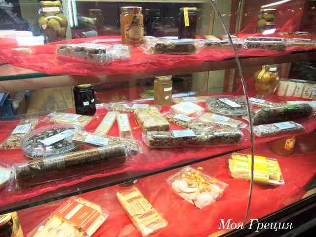 Греческие сладости в Мецово