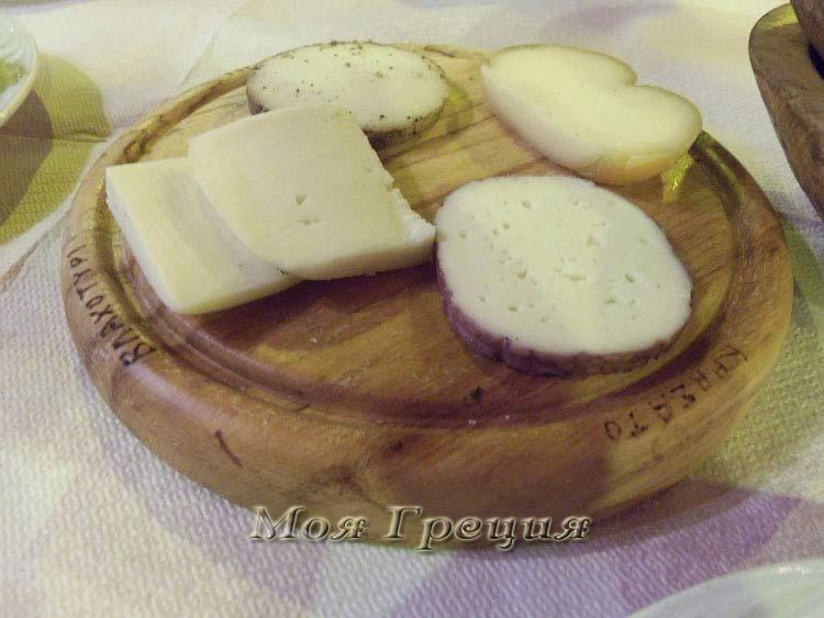 Сырное ассорти в Мецово