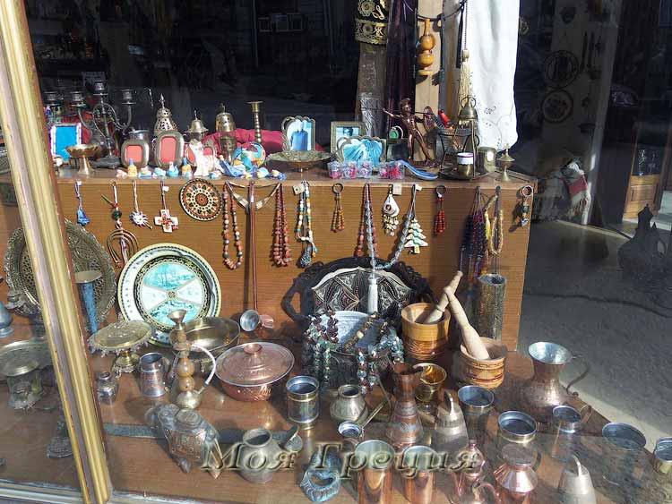 Сувениры в Мецово
