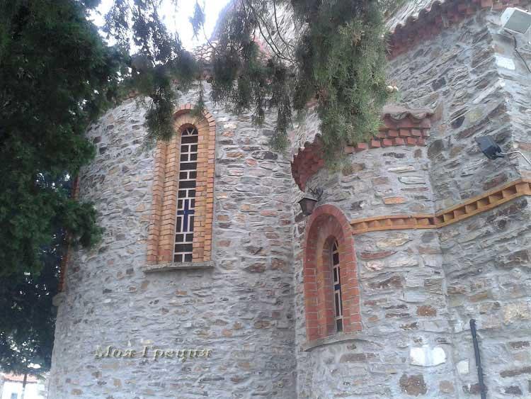 Задняя стена храма Св. Архангела Михаила