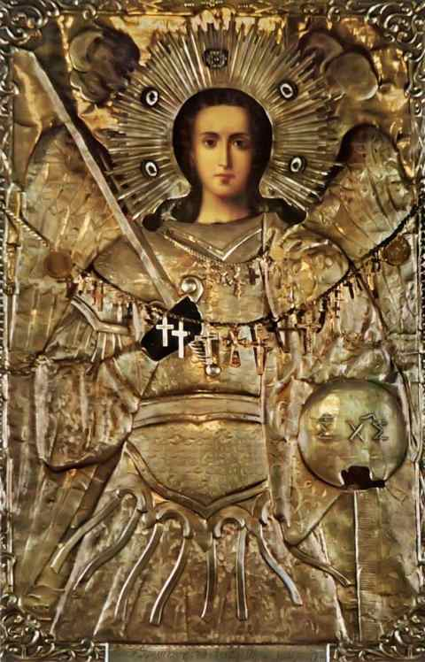 Икона Архангела Михаила, Таксиархис