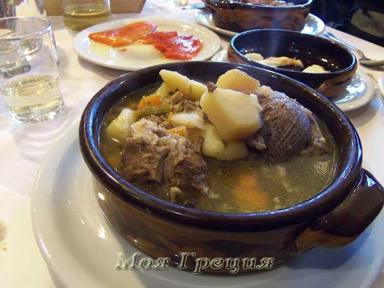 Суп из козы